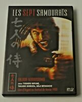 DVD LES SEPT SAMOURAIS FILM  ACTION POLICIER THRILLER GUERRE