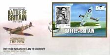 "BIOT - "" WAR PLANES ~ BATTLE OF BRITAIN ~ HONOURING THE FEW"" MS FDC 2010 !"
