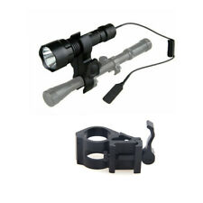 Outdoor Hunting Lights 6000LM T6 LED Tactical Flashlight+Rail Weapon Gun Mount