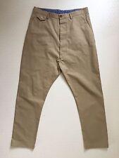 32L Flat Front Low Men's Trousers