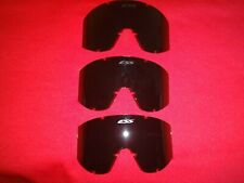 Lot Of 3 Spare Lens For ESS Land Operations Ballistic Goggle Z87
