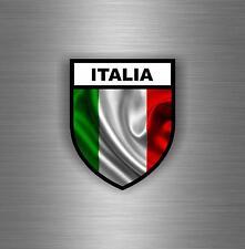 Sticker car moto biker flag decal shield italy military airsoft tuning italian