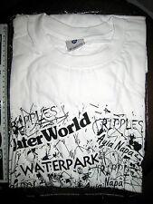 Waterworld nuestro laboratorio Ayia Napa Chipre camiseta De Manga Corta Talla Xl