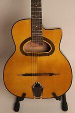 GUITAR DJANGO Jazz Guitar - d-schallloch 6 String Richwood + Cut NEW