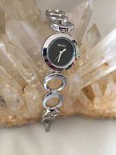 Ladies DKNY Quartz Bracelet Watch With New Battery