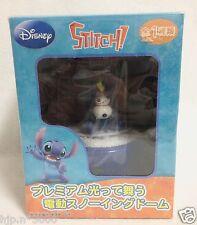 Disney Store Lilo & Stitch Snow Globe Dome and pen LTD figure Doll Japan RARE!!