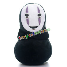 2015 Unique Spirited Away Faceless Black No Face Gost Plush Anime Toy Doll 7''