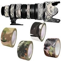 Tarnband Klebeband Gewebeband Camo Camouflage Army Tape 10M Isolierband Duc A8X4
