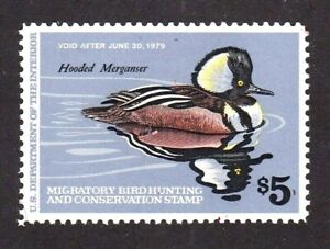 United States Federal Duck Stamp # RW 45, MNHOG, XF 1979