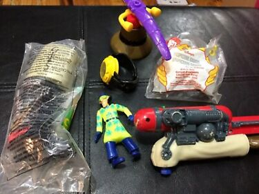 Vintage 1999 McDonalds Happy Meal Toy Inspector Gadget Figure Parts Lot