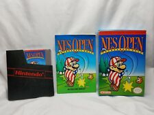 NES Open Tournament Golf Nintendo Entertainment System w/ Box CIB Manual