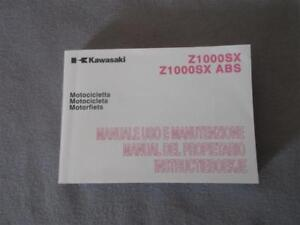 Kawasaki Z 1000 SX Manual Manual Operating Instructions 99976-1620