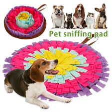 Dog Snuffle Mat Sniffing Training Pad Pet Puzzle Play Toys Washable C4