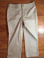 NWTS! Banana Republic Sz. 6 Harrison Fit Women's Khaki Crop Pants Capris