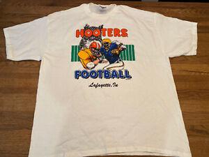 2003 Hooters Football Helmet Menu Promo Laminated Place Mat Man Cave Decor