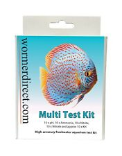 Aquarium Multi Test Kit High Accuracy Tablet Test pH Ammonia Nitrite Nitrate KH