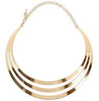 Fashion Punk Jewelry Chain Pendant Women Choker Collar Bib Statement Necklace