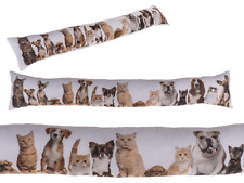 Draught Excluder Dog & Cat Draught Excluders 85cm Long Tube Wind-stopper New