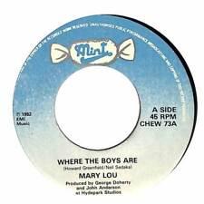 "Mary Lou - Where The Boys Are - 7"" Record Single"