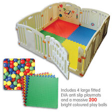 ALL STARS Baby Playpen Fun Activity Panel 8pc's Non-Toxic Materials