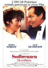 Sodbrennen ORIGINAL A1 Kinoplakat Jack Nicholson / Meryl Streep / Jeff Daniels