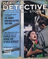 ORIGINAL Vintage March 1965 Official Detective Stories Magazine GGA
