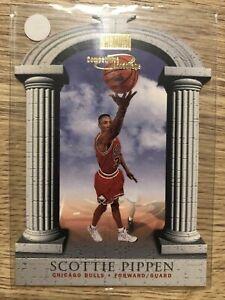 1997-98 Skybox Premium Competitive Advantage Scottie Pippen #12 MINT
