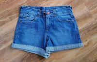 JOULES LADIES GORGEOUS Quality HANA DENIM 5 pocket Turn up Shorts. BRAND NEW.
