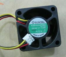 SUNON KDE0504PKB2 fan 40*40*20mm 5V 1.0W 3pin #M432 QL