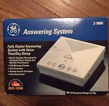 Vintage GE Fully Digital Answering System Machine General Electric 2-9866 NIB