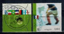 timbres France n° 3483 et 3484 oblitérés année 2002