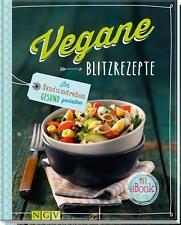 Vegane Blitzrezepte - Mit eBook von Bettina Snowdon und Martin Lagoda   Buch