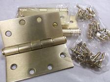 New 3pk 1WAH7 Template Hinge Plain Dull Brass 4.5x4.5 (B8)