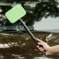 Microfiber Windshield Clean Car Auto Wiper Cleaner Glass Window Tool Brush AU