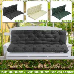 US Replacement Cushion For Garden Swing Chair Bench Seat Backrest Furniture Mat