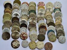 Lot of 75 Wrist Watch Metal  dials for Altered Art, Steampunk WWD #024