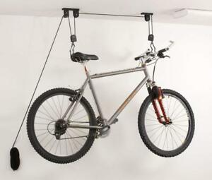 Bicycle Ceiling Hanging Storage Pulley Hoist 20kg Capacity Heavy Duty