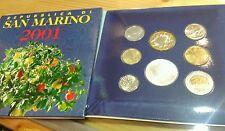 Serie divisionale Repubblica di San Marino 2001
