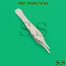 Dressing & Tissue Forceps Adson 12cm Serrated Fine Quality Instrument