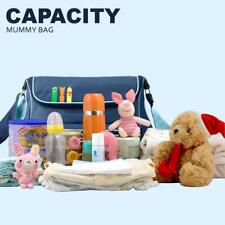 Multifunctional Diaper Bag 600D waterproof mommy bag High-capacity green