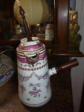 Porcelaine de Samson chocolatière XIXe