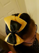 Madelienas  SATIN RIBBON .My inspired Emma  LARGE w/ y.gold headband (15x 11cm)