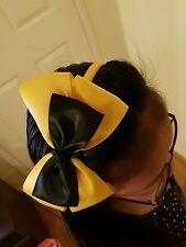 Madelienas  SATIN RIBBON .My inspired Emma  LARGE w/ y.gold headband (15x 11cm)