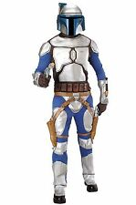 STAR WARS JANGO FETT Adult Halloween Costume with Weapons Armored Bounty Hunter