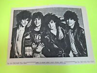 CANDY GLAM HEAVY METAL CONCERT FLYER ( GIBY CLARKE OF GUNS N ROSES )