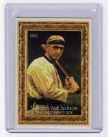 SHOELESS JOE JACKSON RARE MUSEUM CARD BY MILLER PRESS, NM-MT CONDITION