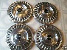 1967-68 Pontiac Stainless Steel  Hubcaps /Set Of  Four