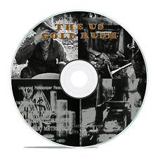THE US GOLD RUSH, CITY GOLD RUSH STARTS, RARE PROSPECTING FILMS ON DVD - J04