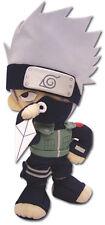 **Legit** Naruto Shippuden 10'' Plush SD Kakashi Holding Kunai #7037