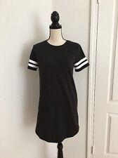 NEW Forever 21 Women Short Sleeve T Shirt Dress - Grey - Size S